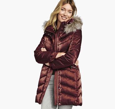 Iridescent Puffer Jacket