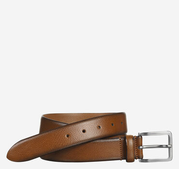Feather-Edge Dress Belt