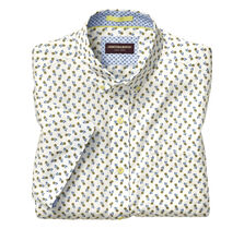 Pineapple Print Short-Sleeve Shirt