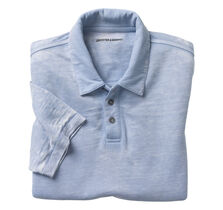 Washed Burn-Out Polo