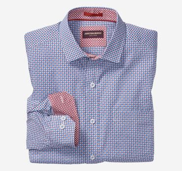 Circle Star Nautical Print Shirt