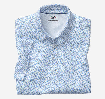 XC4® Airplane Print Polo