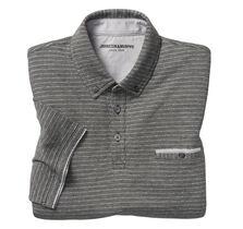 Button-Down Collar Polo