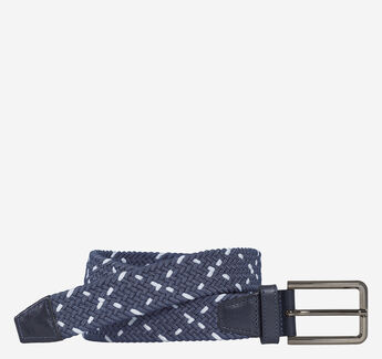 Woven Stretch Knit Belt