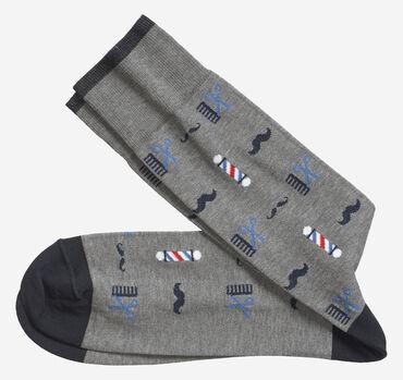 Barber Shop Socks