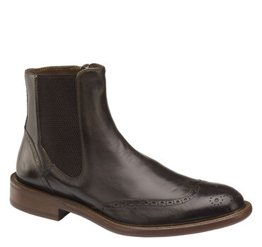 Bryson Wingtip Zip Boot