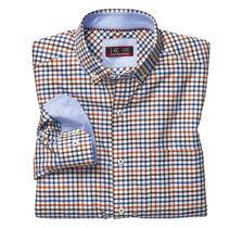 XC4® Colorful Box Grid Button-Collar Shirt