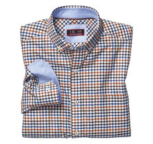 XC4® Colorful Box Grid Button-Collar Shirt