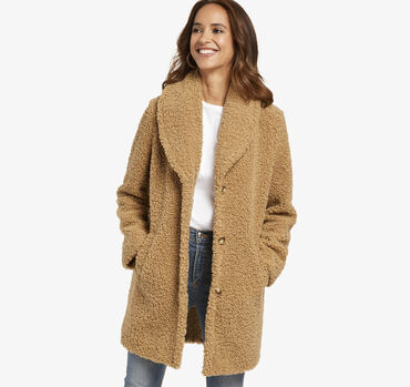 Curly Teddy Coat