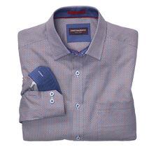 Honeycomb Print Shirt