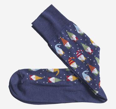 Holiday Gnomes Socks