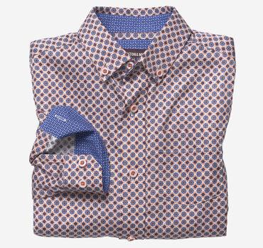 Boys Long-Sleeve Printed Shirt