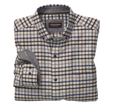 Brushed Heather Windowpane Shirt