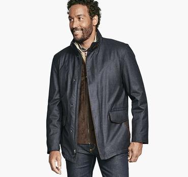 Heathered Jacket