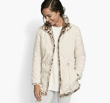 Reversible Faux-Fur Jacket
