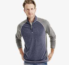 XC4® Fineline Colorblock Quarter-Zip Pullover