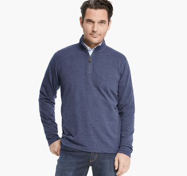 French Terry Quarter-Zip