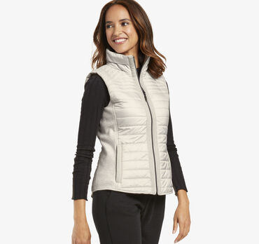 Channel-Quilted Vest