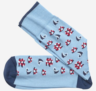Lifesaver Shark Socks