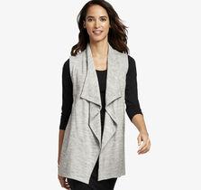 Draped Knit Vest
