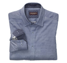 Interlock Puzzle Circles Print Shirt