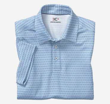 XC4® Golf Club Print Polo
