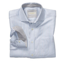 Italian Houndstooth Check Dress Shirt