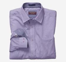 Basketweave Print Shirt