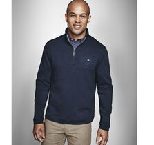 Diamond Knit Quarter-Zip