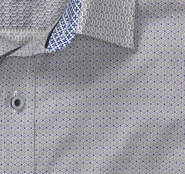 Geo Tiles Print Shirt