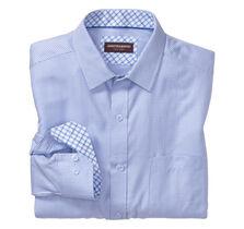 Micro Cross Line Dress Shirt