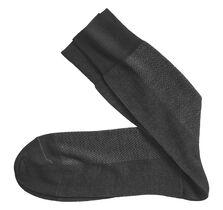 Herringbone Panel Socks