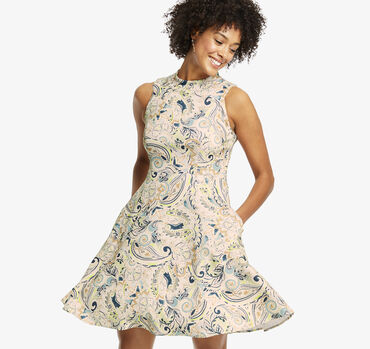 Halter Paisley Dress
