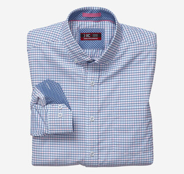 XC4® Micro Check Stretch Shirt