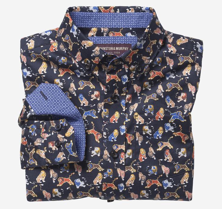Boys Long-Sleeve Printed Shirt preview