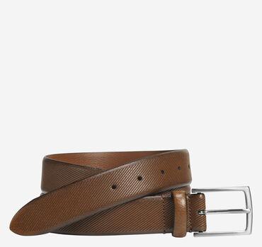 Diagonal Embossed Belt