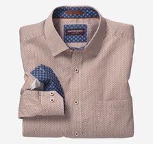 Split Maze Print Shirt
