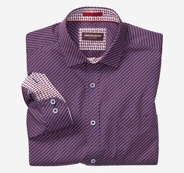 Oval Wave Print Shirt
