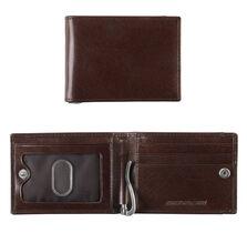 Italian Leather Snap Bill Till Wallet