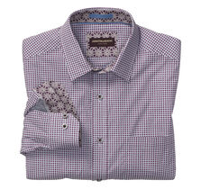 Filigree Cross Print Shirt