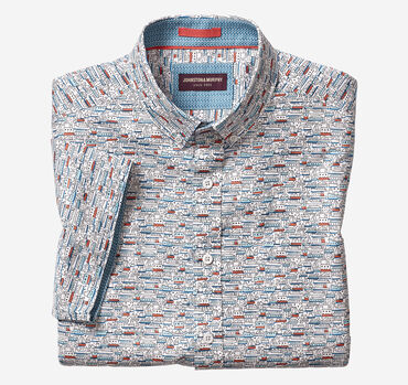 Steamboat Print Short-Sleeve Shirt
