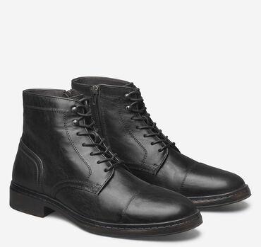 Langley Cap Toe Zip Boot