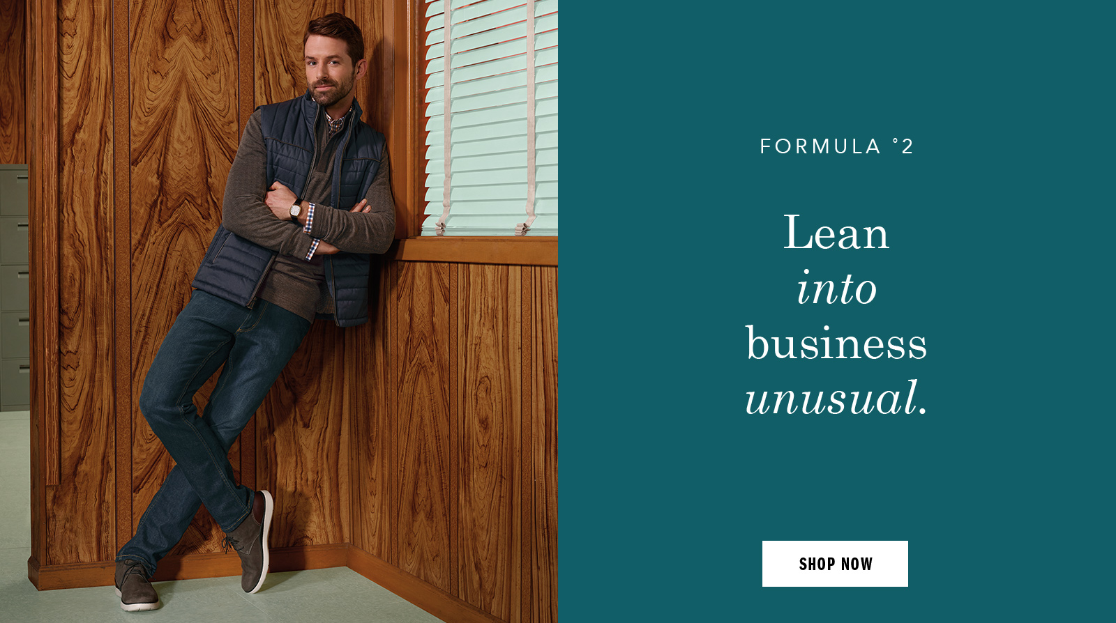 Lean into business unusual - Shop Men Shoes and Apparel