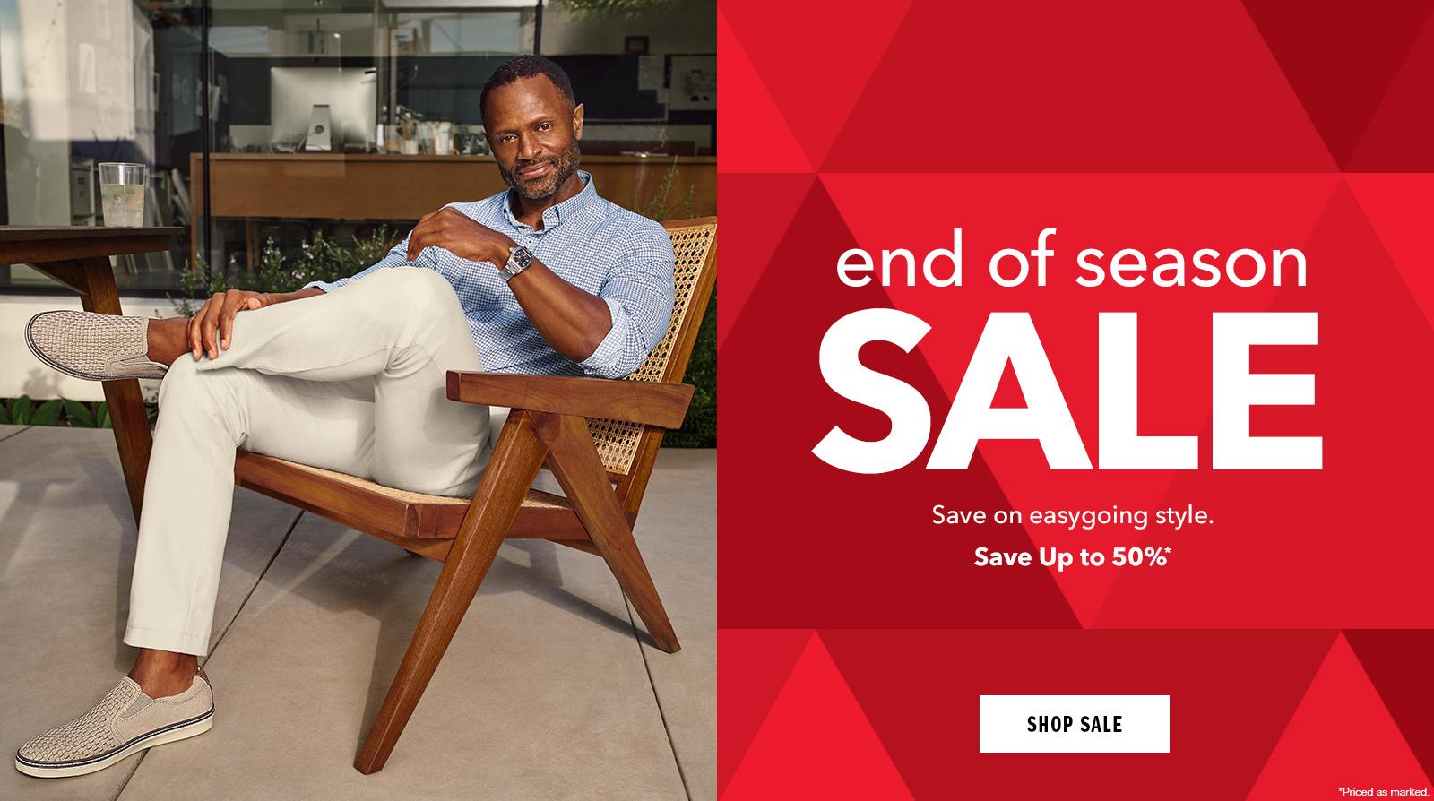 Shop End of Season Sale