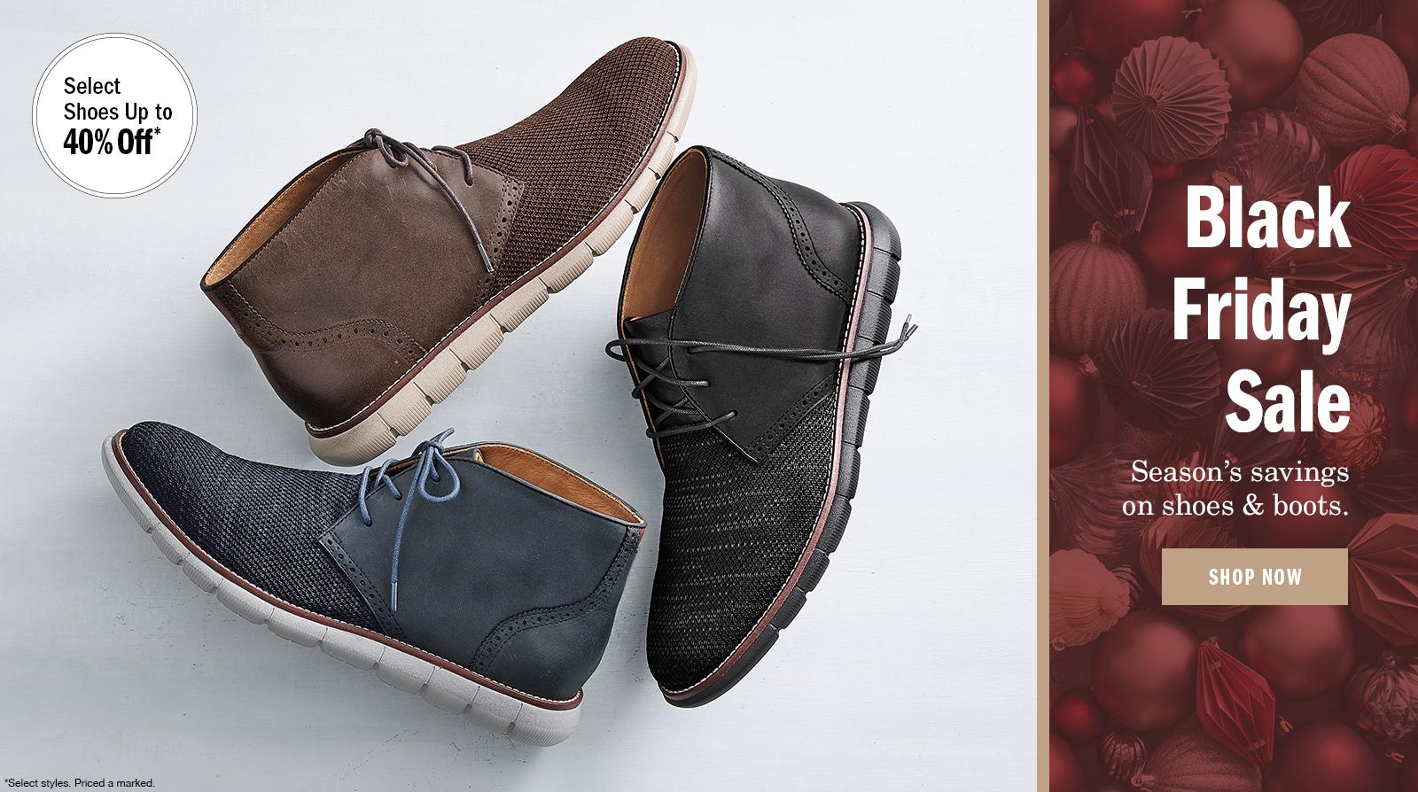 Black Friday Sale Men's Shoes