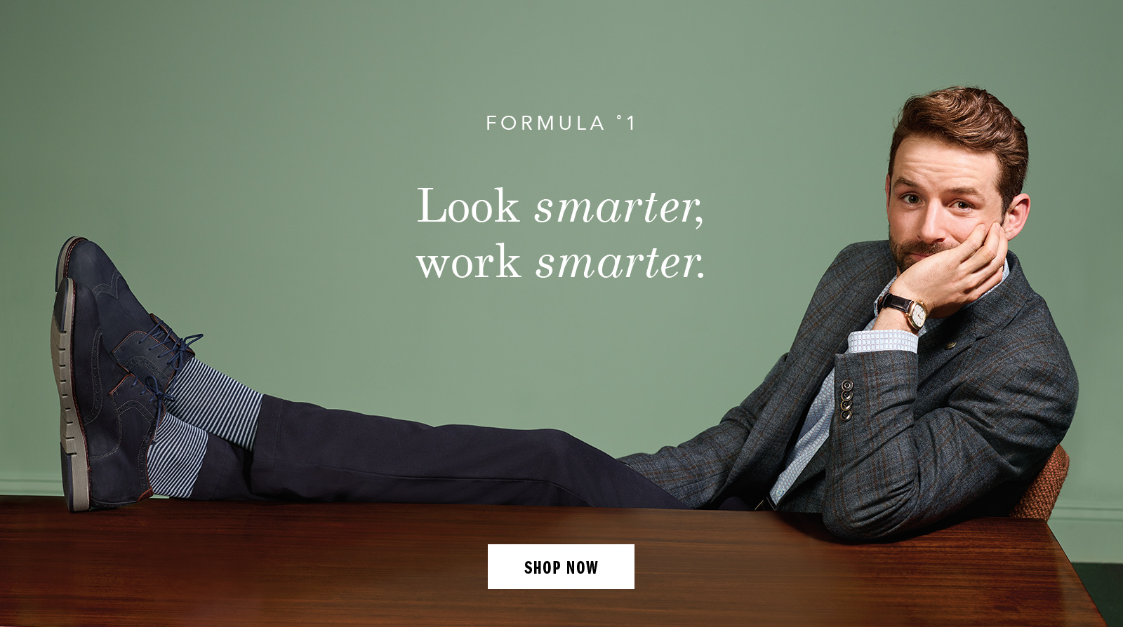 Look smarter work smarter - Shop Men Shoes and Apparel