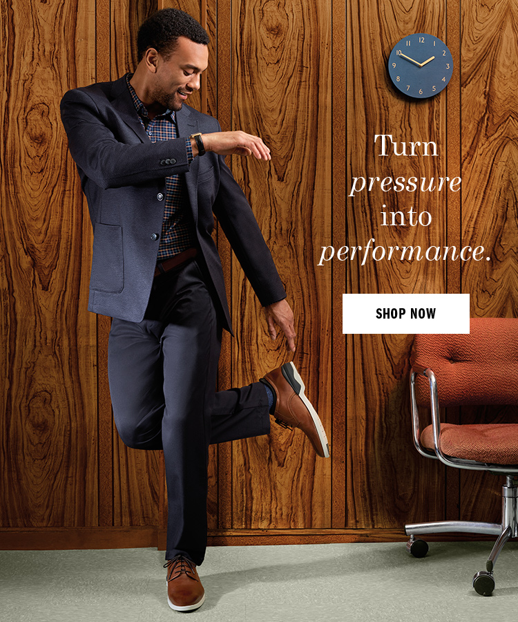 Turn pressure into performance.